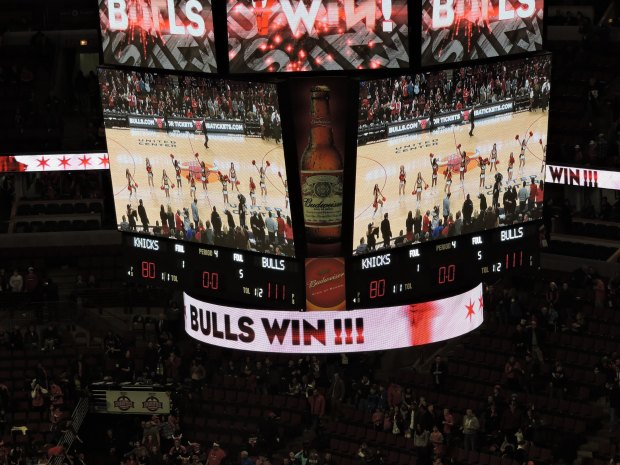 Bulls Win 111-80 Photo by Justine Body